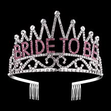 Bachelorette Sparkle tiara Hen Party Crown Bride to Be Bridal Shower Supply 9 HL