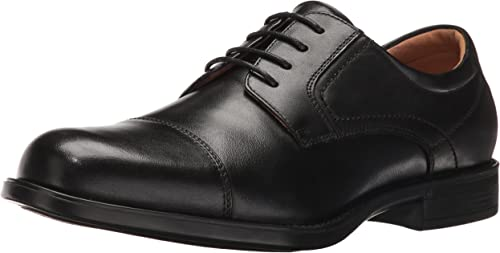 Florsheim Men& 039;s Medfield Cap Toe Oxford Dress schuhe, schwarz, 10 D US