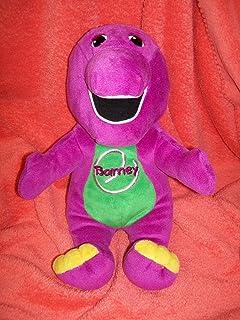 "BARNEY THE DINOSAUR Talking/Singing 14"" Plush (Specially My Barney)"