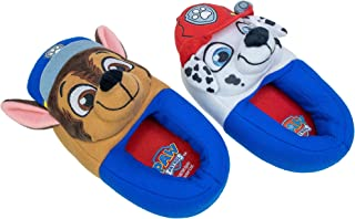 Paw Patrol Slippers,Chase Marshall Full Body Slippers,Toddler size 5/6 to 11/12