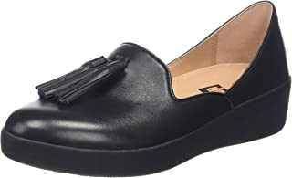 FitFlop Women's Tassel Superskate D'Orsay Leather Loafer