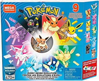 Mega Construx Pokemon Every Eevee Evolution! Pack