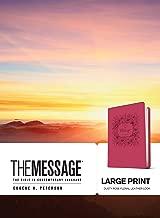 Best large print message bible Reviews