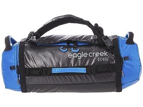 Eagle Creek Cargo Hauler Duffel 45 L/S Blue/Asphalt Cheap Sale Largest Supplier Cerm8qe5