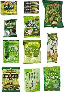 "Japanese ""Matcha flavor Set"" 14 packs of sna"