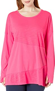 Fruit Of The Loom Women's Active Pieced Tunic Tee Shirt