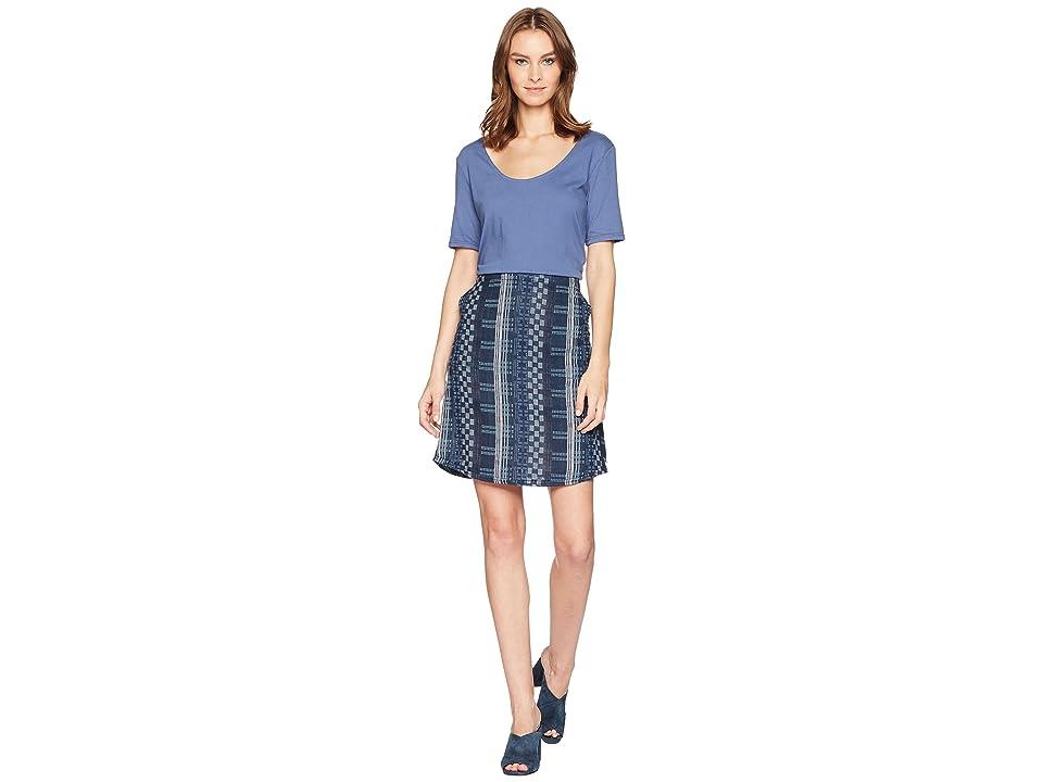 Woolrich Eco Rich Afterlight Dress (Bijou Blue) Women's Dress