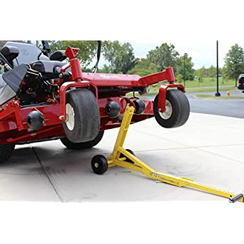 Jungle Jim's Commercial or Push Mower Lift Jack - Even ZTRs!