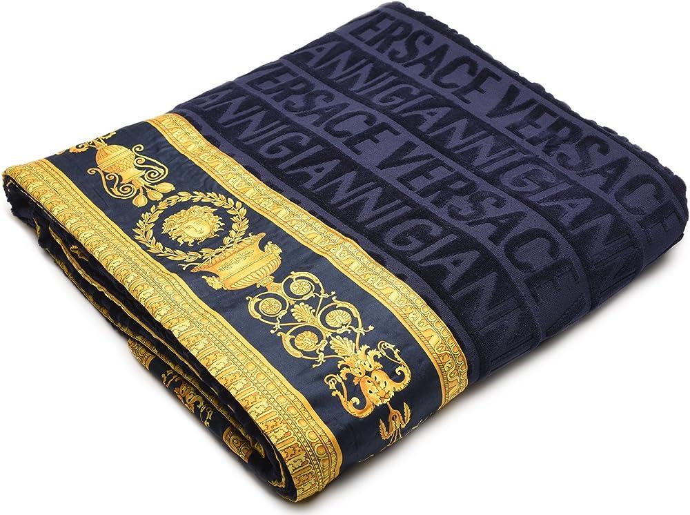 Versace, copriletto trapunta,misure 153 x 207cm ,100% cotone TM53SP15200-002