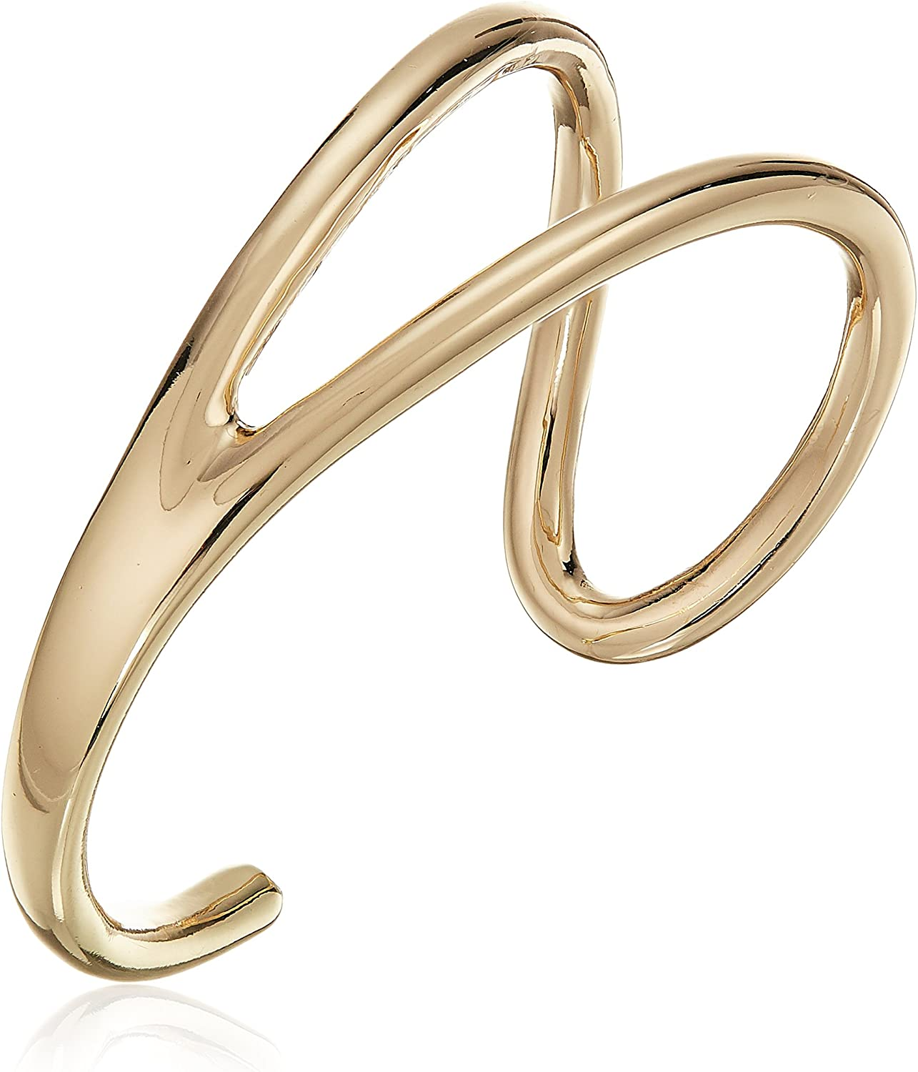 French Connection Women's Open Cuff Bracelet, Gold, One Size