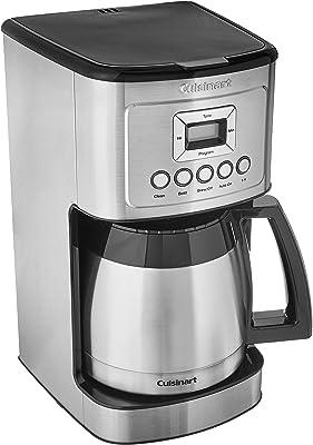 Cuisinart DCC-3400 - Cafetera térmica programable (12 tazas, acero inoxidable)