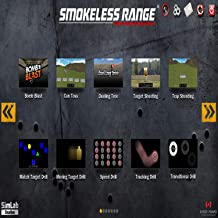 SMOKELESS Range 2.0 Judgemental and Marksmanship Shooting Simulator (Short Throw Camera Included)- Train Anytime Day or Night with Your own Laser Based Training Simulator in The Comfort of Your Home