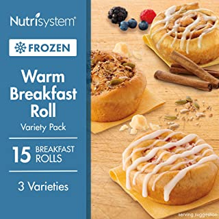 Nutrisystem® Warm Breakfast Rolls Variety Pack, 15 Count (Frozen)