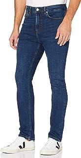 MERAKI Jeans Skinny Fit Uomo, Cotone Organico