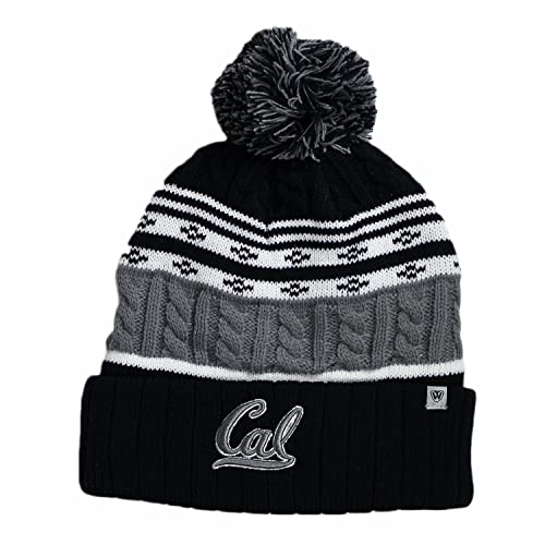 1c9bdc616 Top of the World Cal Bears Official NCAA Cuffed Knit Altitude Beanie  Stocking Stretch Sock Hat