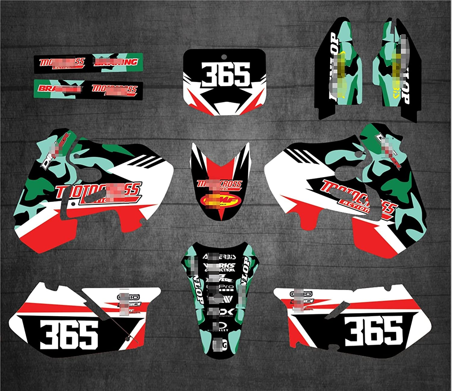 YHYPRESTER XYTZ253-2 Customized 3M security Gr Decals Stickers Max 59% OFF Motorcycle