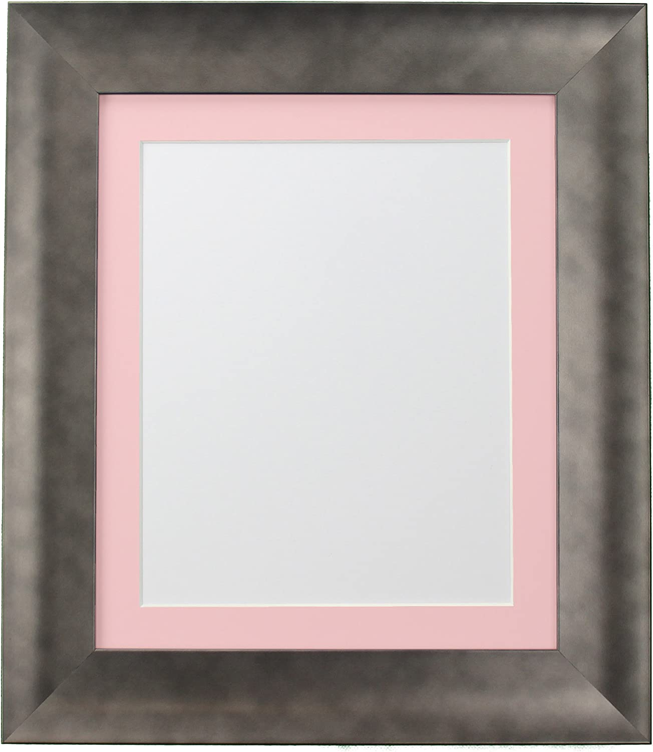 FRAMES BY 4 years warranty POST Rare Hygge Picture Frame Photo Pewter Plastic Glass