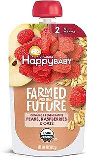 Happy Baby Organics & Regenerative Stage 2 Baby Food,