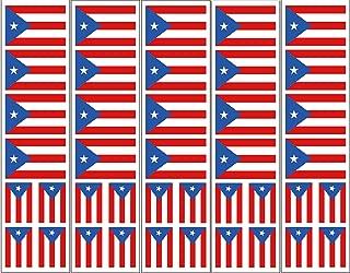 40 Puerto Rico Flag Tattoos, Parade & Party Favors