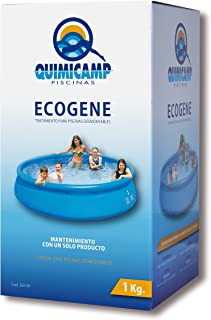 Quimicamp - Ecogene tratamiento piscinas elevadas, tamaño 1l