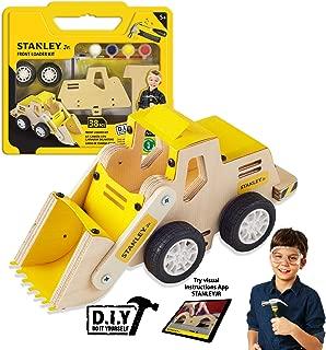 Stanley Jr.. - Front Loader Kit, Medium Wood Building Kits Ages 5+ (OK032-Sy)