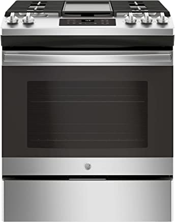 574a07755 GE JGSS66SELSS 30 Inch Slide-in Gas Range with Sealed Burner Cooktop