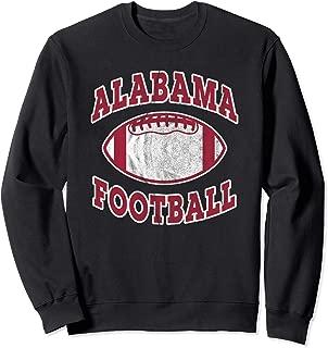 Alabama Football Vintage Distressed Sweatshirt