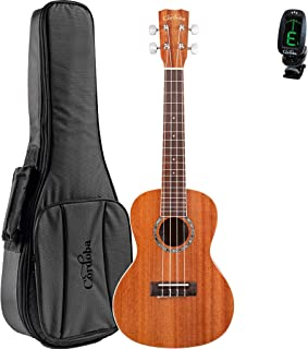 Cordoba 15CM Acoustic Concert Ukulele with Deluxe Concert Gig Bag and Cordoba Tuner