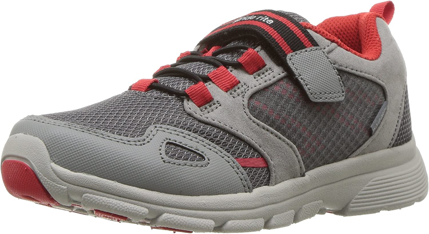 Stride Brand Cheap Sale Venue Rite Baby-Boy's safety Made 2 Grey Play Sneaker Taylor Athletic