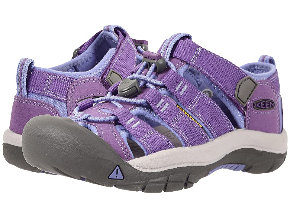 Keen Kids Newport H2 (Little Kid/Big Kid) (Purple Heart/Periwinkle) Girls Shoes