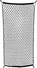 ABN Cargo Net with Fasteners and Hardware, 24 x 45in (Stretches to 60in Long) – Trailer, SUV, Motorcycle, ATV, Roof