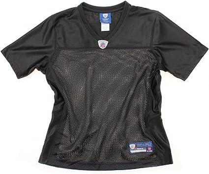 Amazon.com : Reebok NFL Women's Blank Replica Jersey - Black ...
