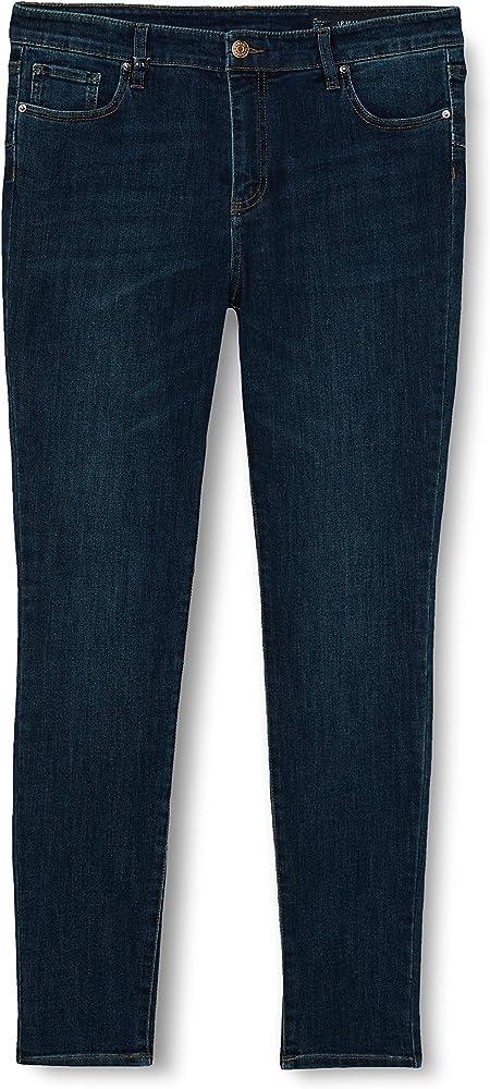 Armani exchange, push up jeans per donna,in cotone elasticizzato 6HYJ69Y2REZ1500