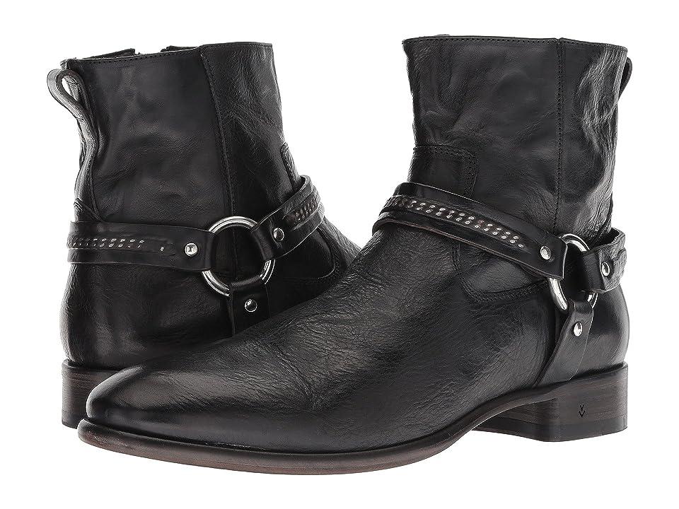 John Varvatos Collection Eldridge Harness Boot (Black) Men