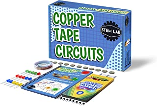 Copper Tape Circuit STEM kit for at-home learning & play with real circuits - All Inclusive! 10 Electricity and circuit pr...
