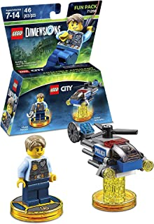 Lego Dimensions Building Toy Pack (LEGO City Chase McCain 71266)
