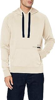 Scotch & Soda Organic Cotton Felpa Hoodie with Small Artwork Hooded Sweatshirt Homme