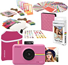 Polaroid Snap Touch Instant Digital Camera (Pink) Starter Bundle with Neoprene Case
