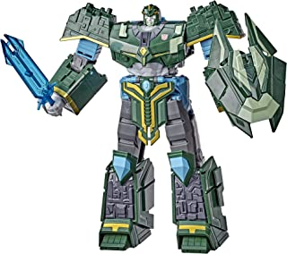 Transformers E7114 Bumblebee Cyberverse Adventures Toys Ultimate Class Iaconus Action Figure, Energon Armor, For Kids Ages...