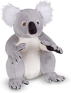 Melissa & Doug 18806 Lifelike Plush Koala Stuffed Animal Toy, Multi-Colour