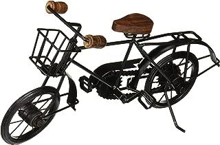 IOTC IR 2040-VC Retro Classic Decorative Iron Bicycle Black, Large, 10
