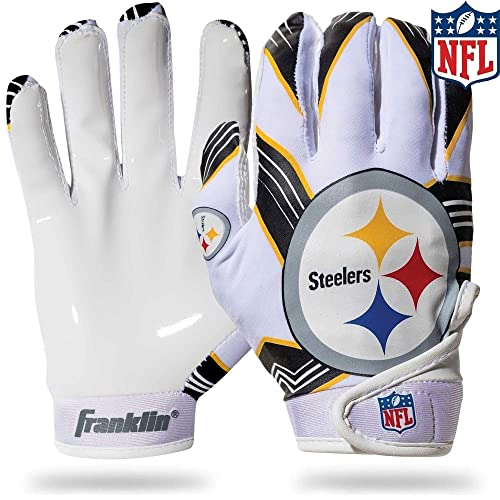 Franklin Sports NFL Team Licensed Youth Football Receiver Gloves (Pair) 920db40bb