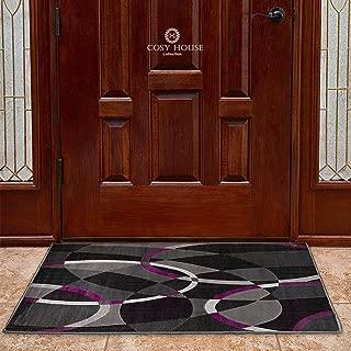 Front Door Mat Welcome Doormat for Home, Indoor, Entrance, Kitchen, Patio, Entry - Waterproof Low Profile Entryway Rug - Natural Jute Backing - Power Loomed in Turkey   24
