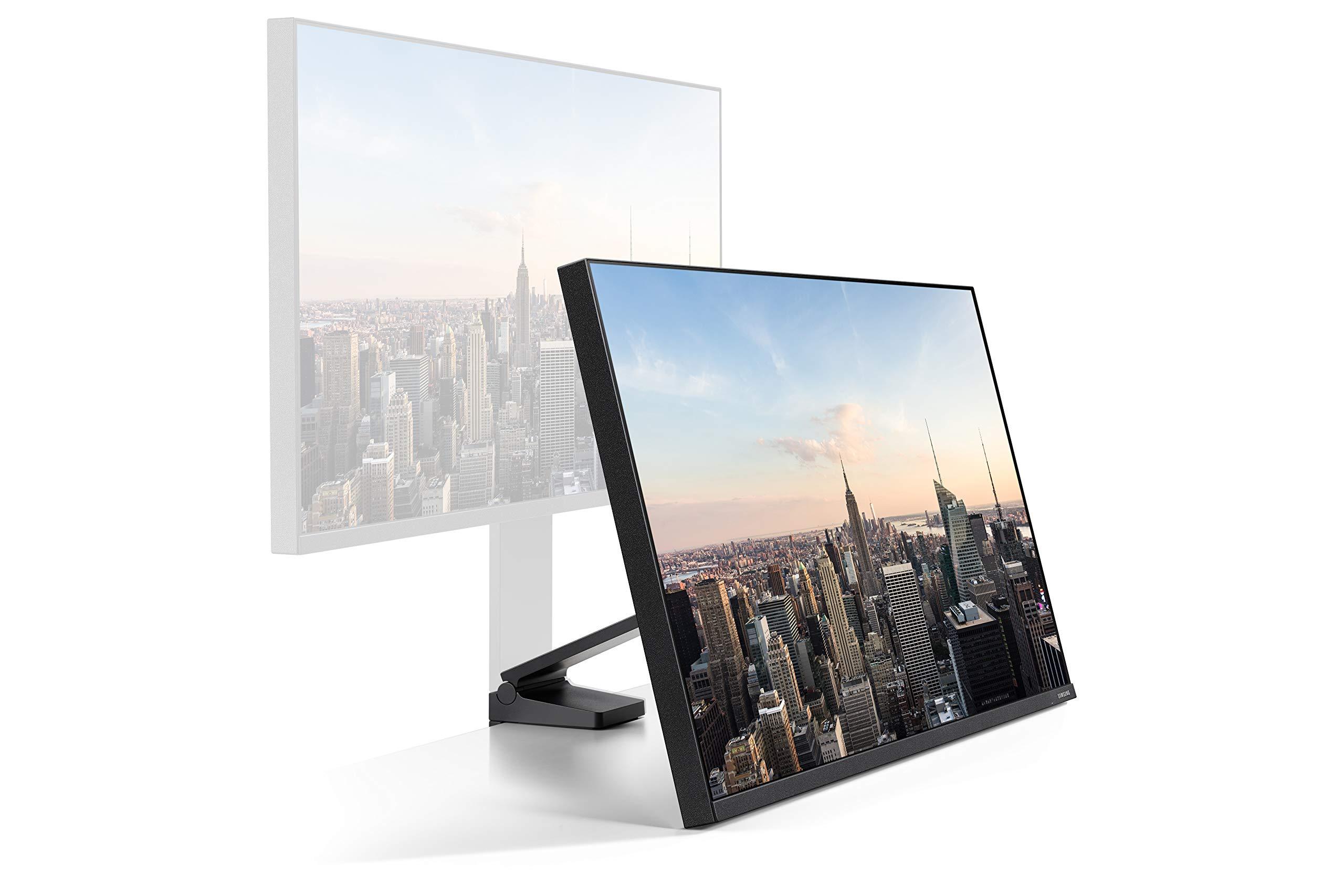 Samsung Space Monitor de 27 WQHD con Marcos Estrechos (2560 x 1440, 144 Hz, 4 ms, HDMI), Negro: Samsung: Amazon.es: Informática