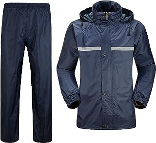 WOLFTEETH レインウェア メンズ レインスーツ 上下セット セパレート フード付き 防水 アウトドア 雨具 男女兼用 4082