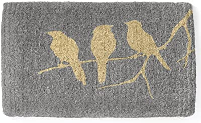 Birds on Branch 100% Coir Doormat | 45x75 cm | | Fab Habitat