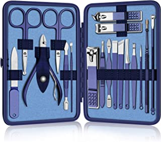 Manicure Set Nail Clipper Kit Professional Pedicure Kit 18pcs Stainless Steel Nail Cutter Set Care Tools Pr...
