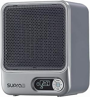 Supra 1510 Ceram - Calefactor de aire con pantalla digital, color gris