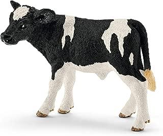 Schleich North America Holstein Calf Toy Figure