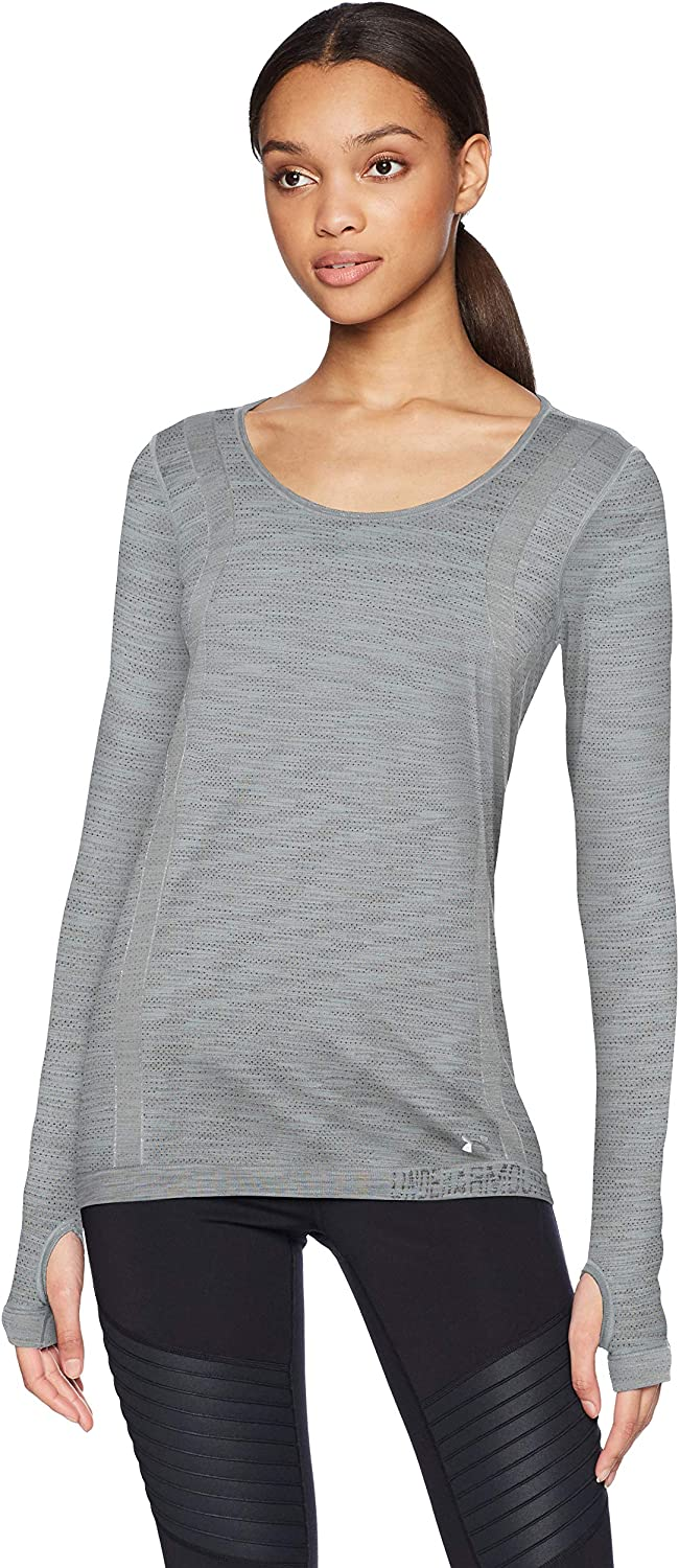 Under Armour Free shipping Quantity limited on posting reviews Women's Threadborne Seamless Dye Long Space Sleeve